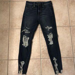 American Eagle Super Hi Rise Jegging Jeans